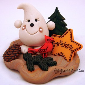Rustic Christmas Parker - Twelve Days of Christmas PREVIEW of Figurine 6 on https://katersacres.com