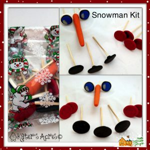 Snow Kit DIY Christmas Gift on KatersAcres Blog