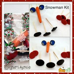 Snow Kit DIY Christmas Gift on KatersAcres Blog