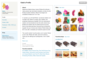KatersAcres Personal Profile Page