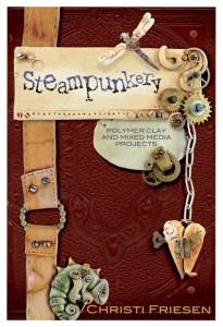 Steampunkery Polymer Clay Book by Christi Friesen
