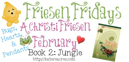 """The Friesen Project - Book 2 """"JUNGLE"""" Tutorial for Bug & Heart by KatersAcres https://katersacres.com"""