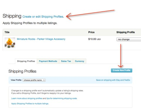 Etsy Tools to Help You Build Your Brand - Shipping Profiles - Pin Now, Read Later on KatersAcres Blog