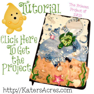 Get the FREE PDF UnderWater Journal Cover Tutorial on KatersAcres Blog