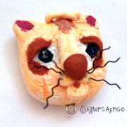 Christi Friesen Inspired Cat Bead by KatersAcres