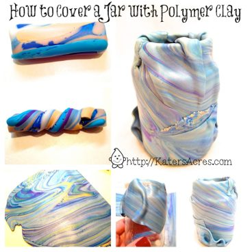 Tutorial: How to Cover a Jar in Polymer Clay