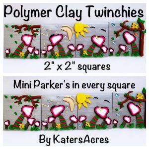 Parker Twinchies set by KatersAcres