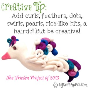 How to Make a Bird: Creative Tip by KatersAcres