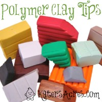 Polymer Clay Tips from KatersAcres