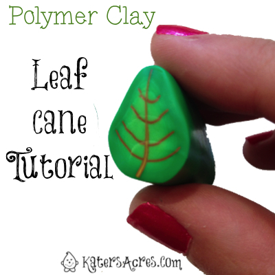 DIY Leaf Cane Tutorial by KatersAcres