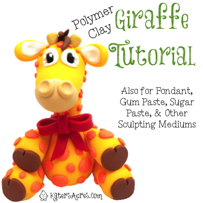 Polymer Clay Giraffe Tutorial by KatersAcres