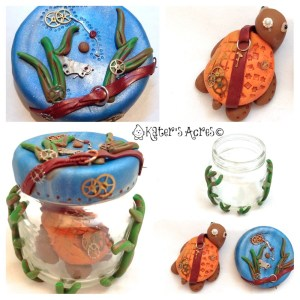 Turtle in Jar Steampunk Project by KatersAcres