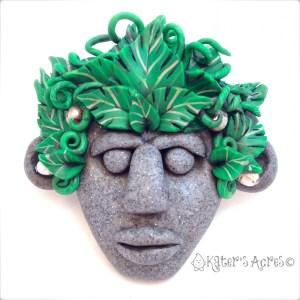Menehune Tribal Mask by KatersAcres