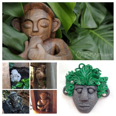Making a Tribal Face INSPIRATION - Making of a Menehune by KatersAcres