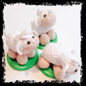 Nativity Scene Sheep by KatersAcres in Process