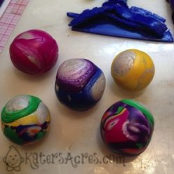 Scrap Clay Balls by KatersAcres