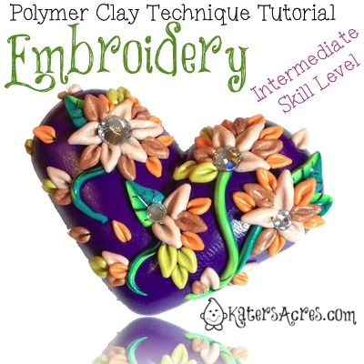 PC Embroidered Heart Tutorial (Intermediate) by KatersAcres
