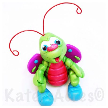 Spring Bug by KatersAcres | Tutorial available for instant download