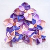 Delicate Spring Flowers by KatersAcres | CLICK to see the tutorial