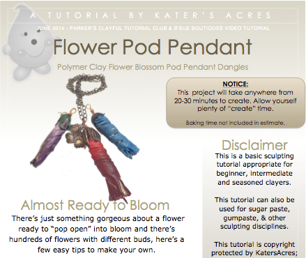 Flower Pod Pendant Tutorial PREVIEW by KatersAcres