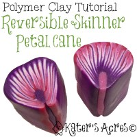 Reversible Petal Cane Tutorial by KatersAcres
