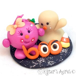 Halloween Lolly StoryBook Scene by KatersAcres