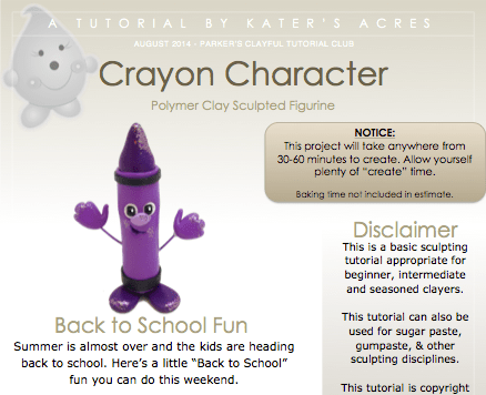 Crayon Character Tutorial Preview by KatersAcres