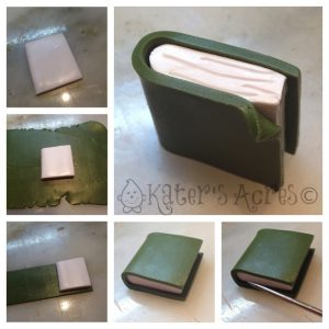 Polymer Clay Book Tutorial by KatersAcres