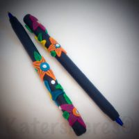 """Polymer Clay Flower Pens by KatersAcres 