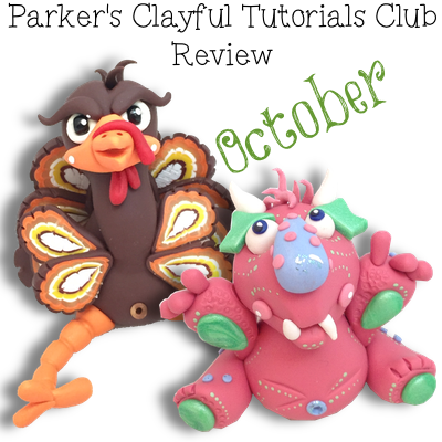 Parker's Clayful Tutorials Club - Oct 2014 Monthly Review