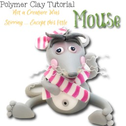 Polymer Clay Mouse Tutorial by KatersAcres