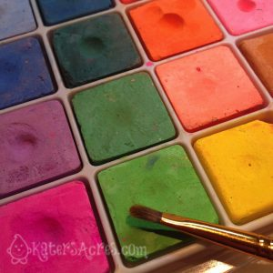 How to Use Blending Chalks on Polymer Clay by KatersAcres