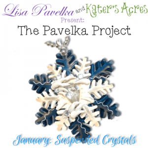 The Pavelka Project | January - Suspended Crystal Header Pendant Tutorial by KatersAcres