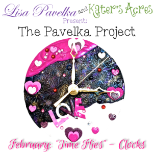 February Pavelka Project - Time Flies - Polymer Clay Clock Tutorial