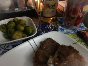 Valentine's Day Dinner for My Hubby & Me | KatersAcres WIP Wednesday TidBits