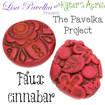 March Pavelka Project: Faux Cinnabar Technique by KatersAcres