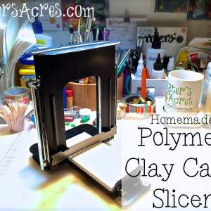 Polymer Clay Cane Slicer from KatersAcres | Handmade professional millefiori canes