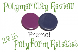 2015 Polyform Color Review - Premo Sculpey® Periwinkle & Wisteria