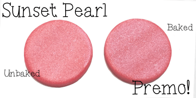 2015 Polyform Color Review - Premo Sculpey Polymer Clay in Sunset Pearl