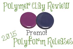 2015 Polyform Color Review - Premo Sculpey® Periwinkle & Wisteria