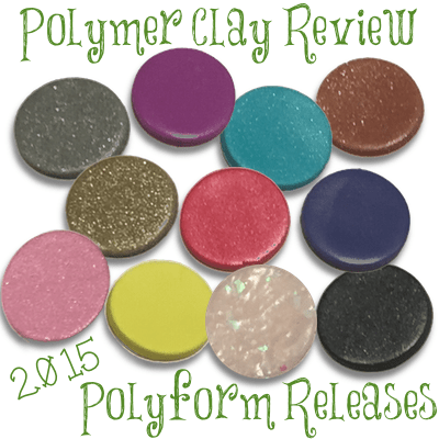 2015 Polyform Color Review for Premo!, Premo! Accents, & Sculpey III by KatersAcres