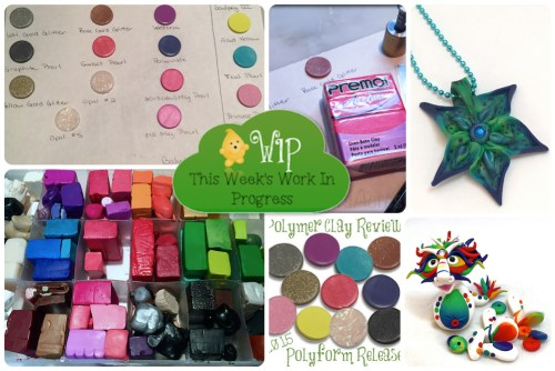 WIP Wednesday in KatersAcres Polymer Clay Studio | Join the Conversation: What are YOU working on?