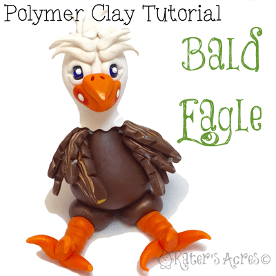 Bald Eagle Polymer Clay Tutorial by KatersAcres