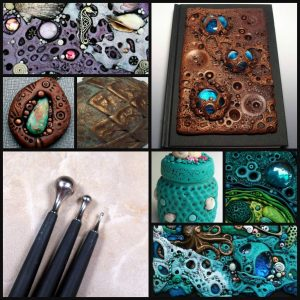Polymer Clay Top Five Texture Tools | Sculpey style & detail tools demonstration by Chris Kapono