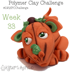 2015 Polymer Clay Challenge, Week 33 by KatersAcres   #2015PCChallenge