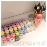 KatersAcres Polymer Clay Studio Paint Supplies