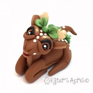 Polymer Clay Deer by Katie Oskin of KatersAcres | Pin Now, Click Later. --- Full PDF Instant Download Tutorial Available.