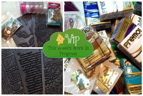 Polymer Clay Haul with KatersAcres | WIP Wednesday Fun