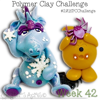 2015 Polymer Clay Challenge - Week 42 with KatersAcres