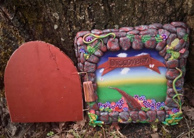 Fimo50 World Project Tile by Katie Oskin of KatersAcres | The Door to Discovery